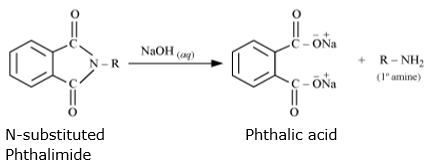 Gabriel phthalimide synthesis is preferred for synthesising primary