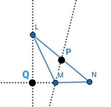 Q4 Draw an obtuse-angled ∆LMN  Draw its altitudes and