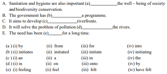 Rearrange the following words or phrases into meaningful