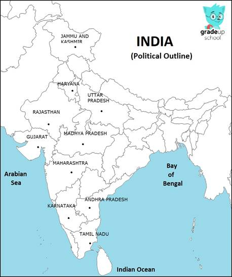 On an outline map of India show millet producing areas. Show The Indian Map on great indian map, search indian map, sketch indian map, open indian map, live indian map, good indian map, show indian flag,