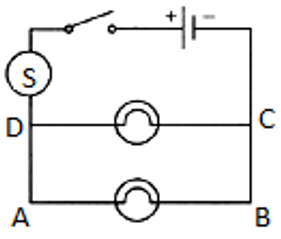 Draw a circuit diagram showing two electric lamps connected ... Drawing A Circuit Diagram on computer circuit diagrams, drawing circuit symbols, drawing maps, drawing kits, physics circuit diagrams, reading circuit diagrams,